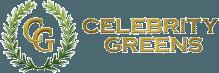 Celebrity Greens logo.