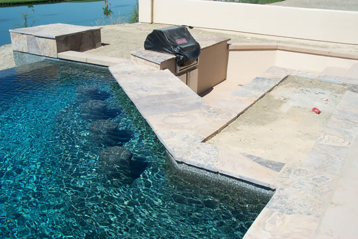 Swim up Bars and Kitchens | Teserra Outdoors | Palm Springs, CA