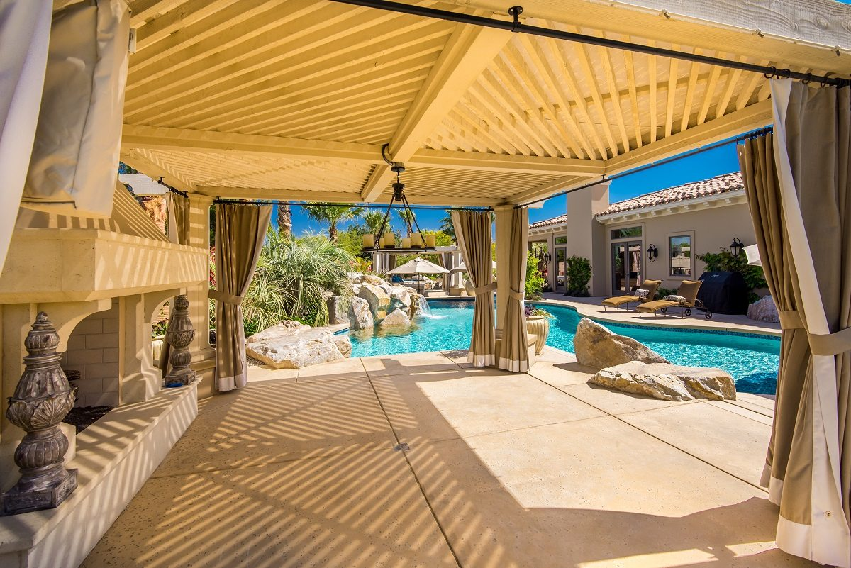Cabanas Patio Covers Casitas Teserra Outdoors Palm